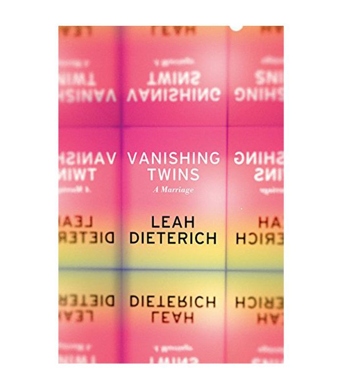Leah Dieterich Vanishing Twins: A Marriage Best Books for Long Flights