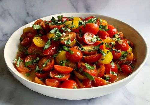 marinated tomato salad