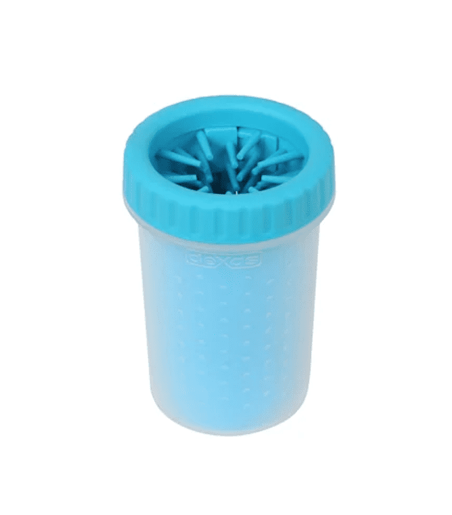 Dexas MudBuster Portable Blue Dog Paw Cleaner, Medium