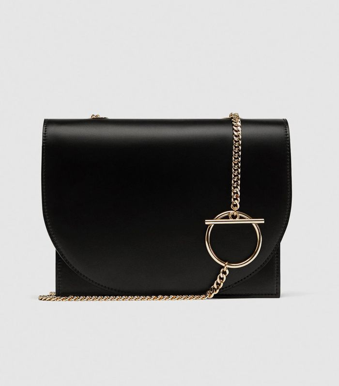 Zara Crossbody Bar With Geometric Handle