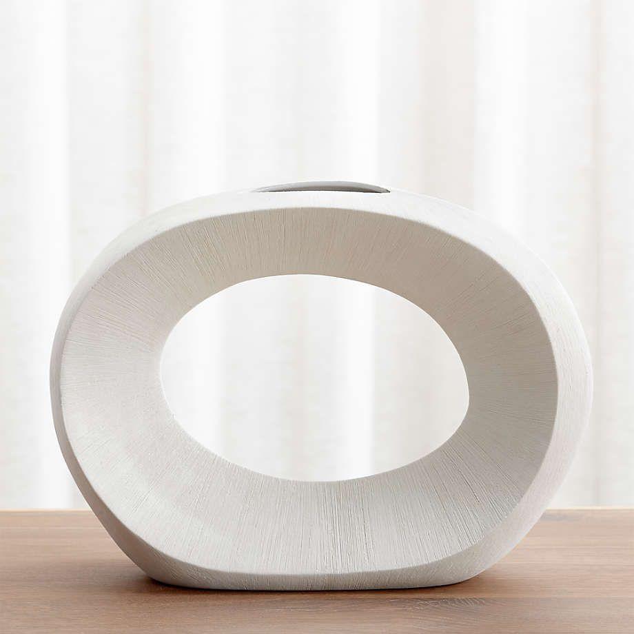 Alura Cream Vase