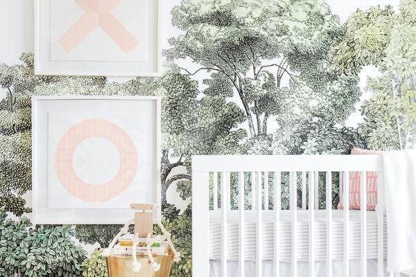 best books for new moms - nursery by Emily Henderson