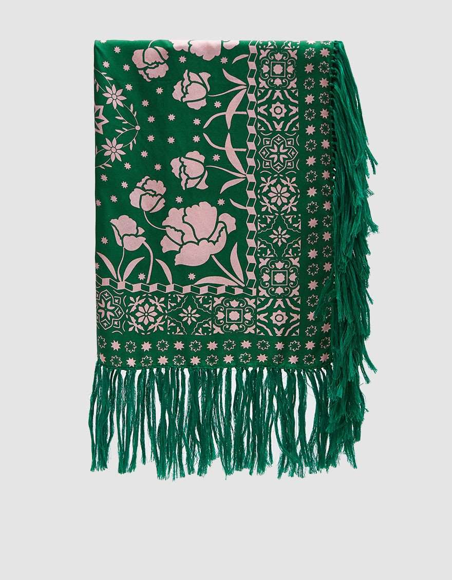 Vagos Silk Bandana in Green