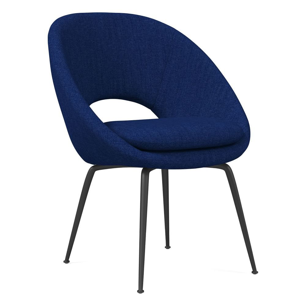 West Elm Orb Upholstered Dining Room Chair