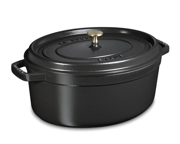 Staub Cast-Iron Oval Cocotte
