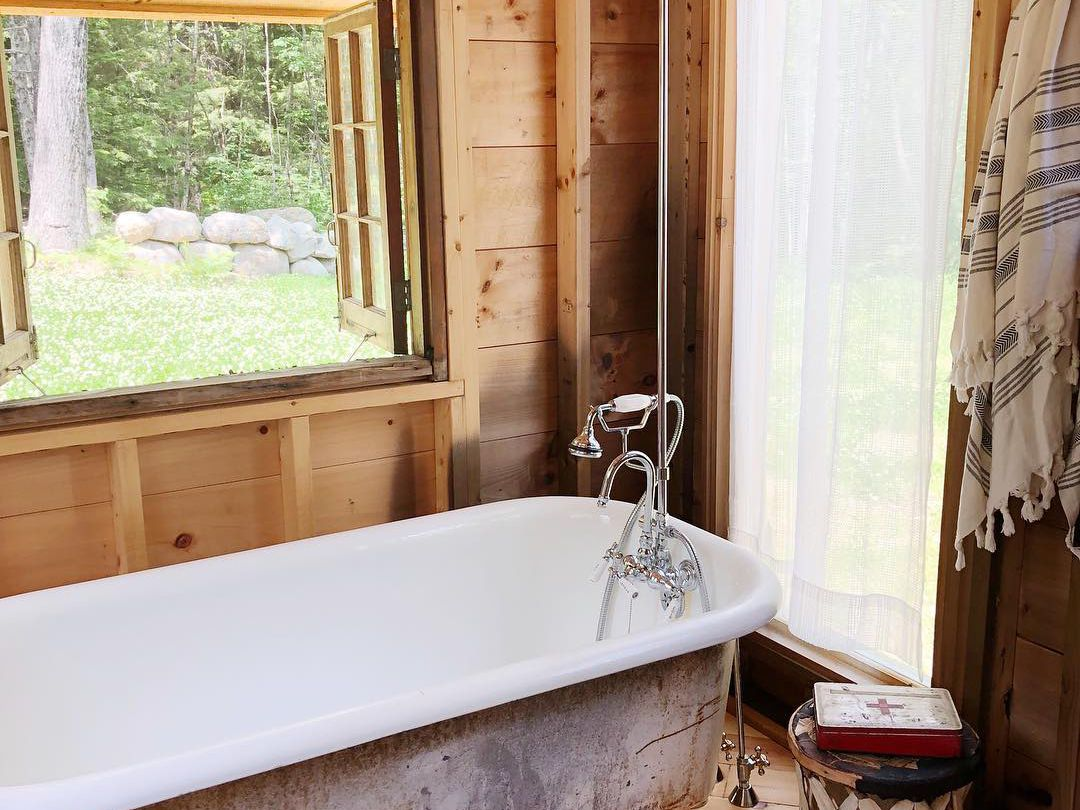 20 Best Rustic Bathroom Design Ideas To, Log Cabin Bathroom Ideas