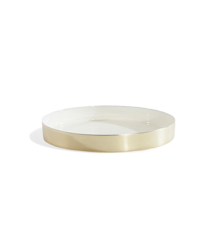 Louise Brass Tray - Small