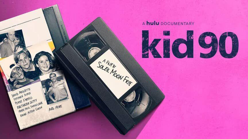 Kid 90 documentary poster