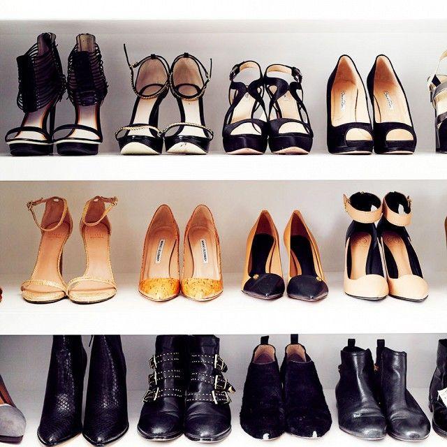 Jaime King's shoe wall