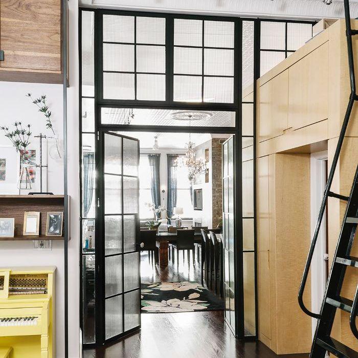 Ninety Degrees Apartments: Inside An Edgy Manhattan Loft-Style Apartment
