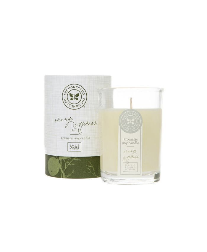 The Honest Company Orange Cypress Aromatic Soy Candle