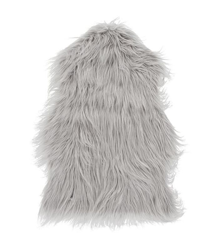 PBTeen Faux-Fur Chair Throw