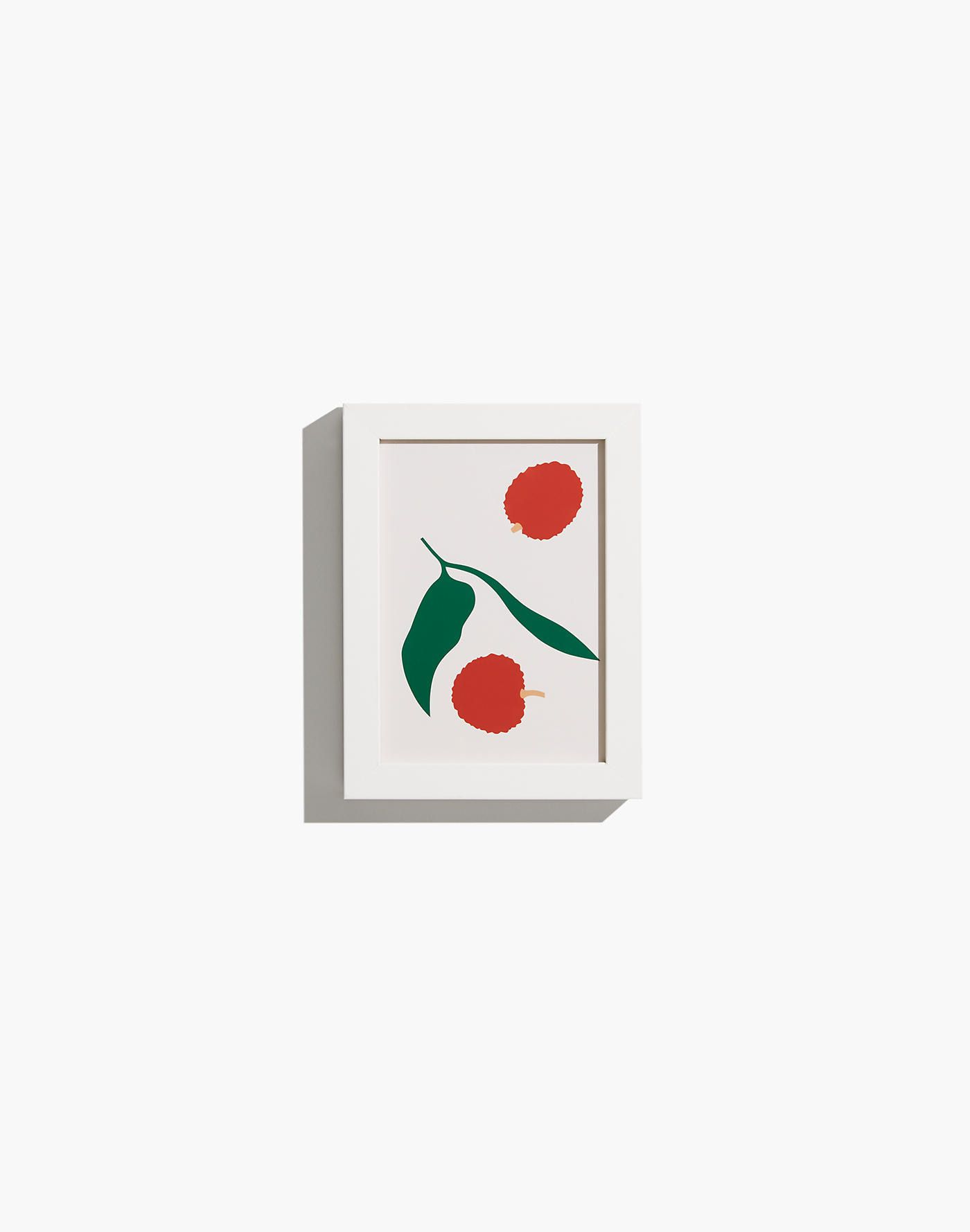 Extra-Small Red Fruit Framed Print
