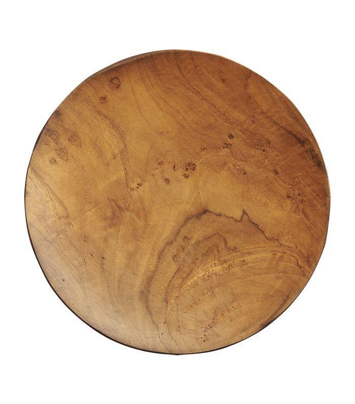 Pacific Teak Wood Appetizer Plate