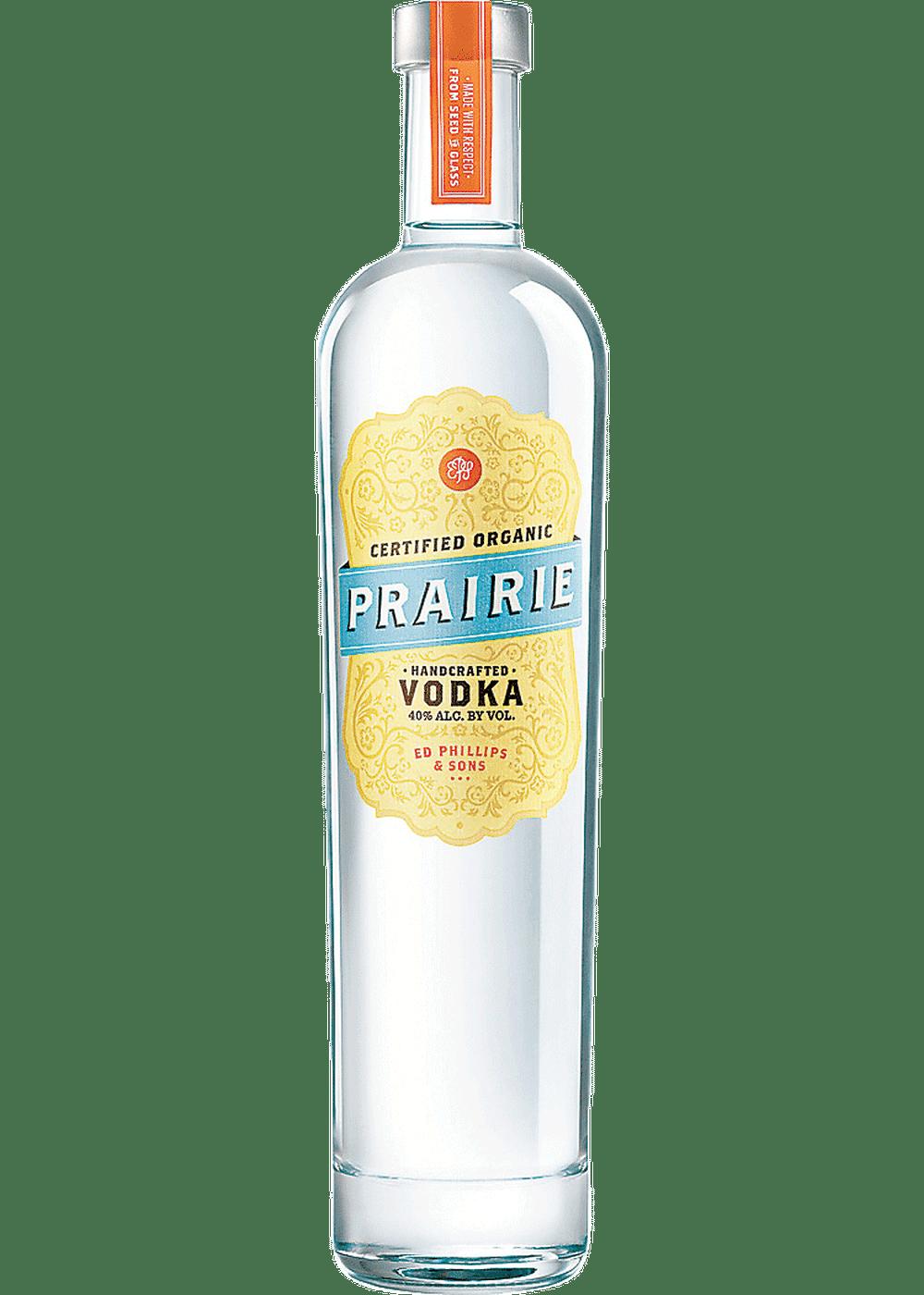 vodka orgánico de la pradera