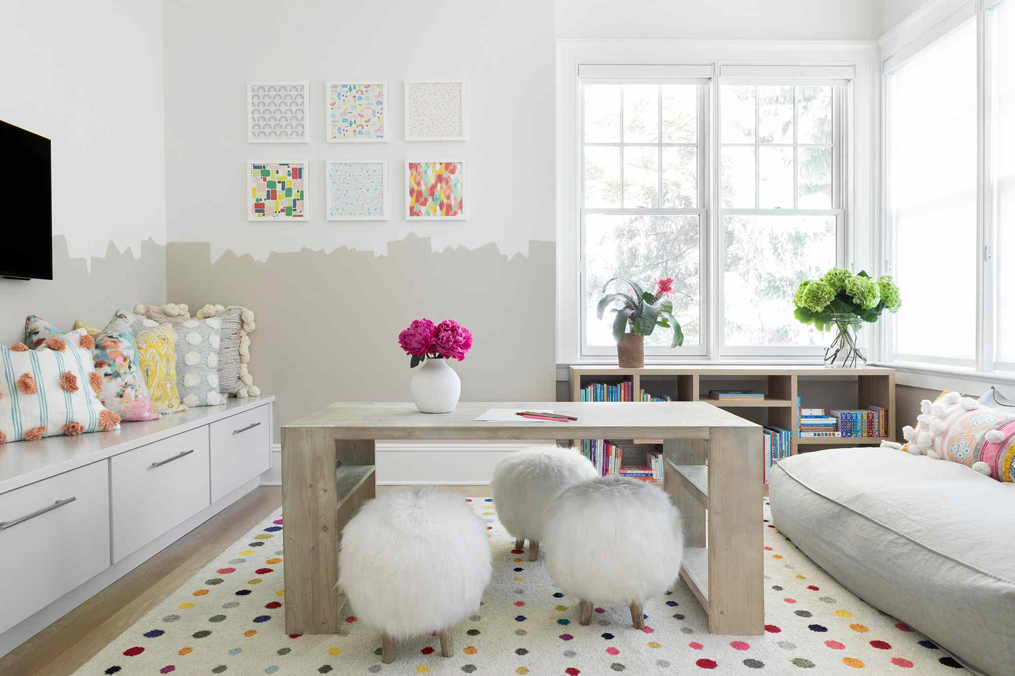 new jersey home tour - children's playroom