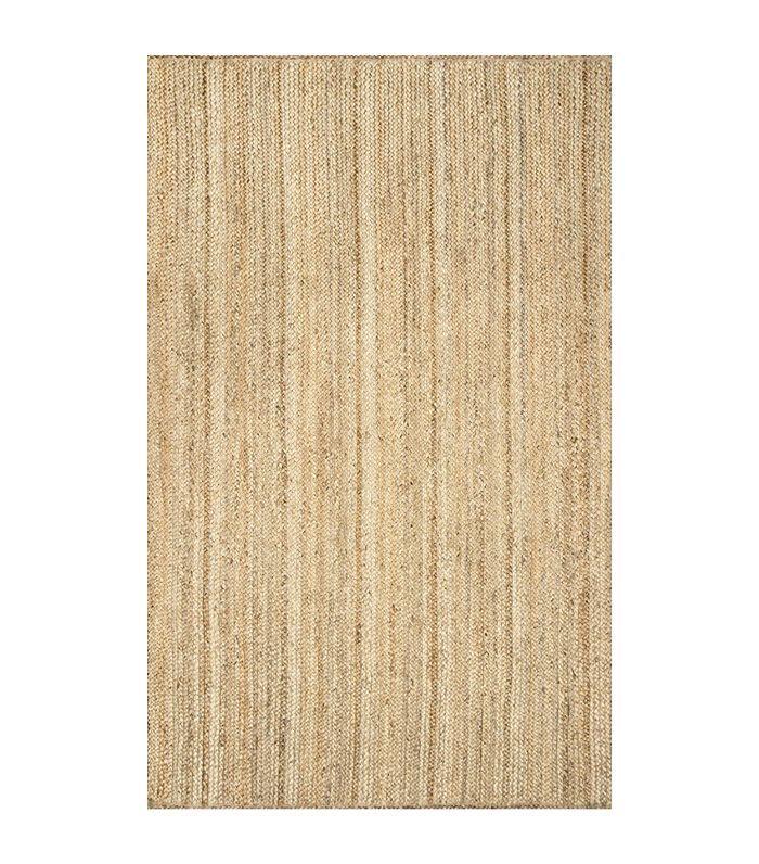 Hand Woven Rigo Jute rug Area Rug, 9-Feet x 12-Feet, Natural