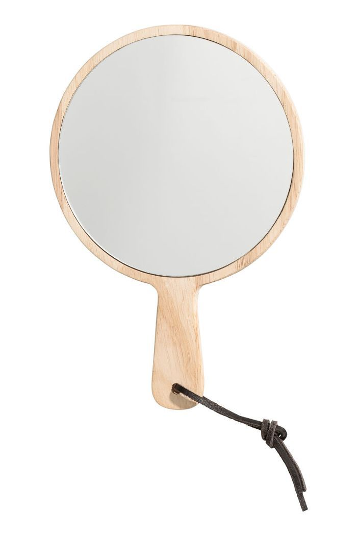 Small Mirror with Handle