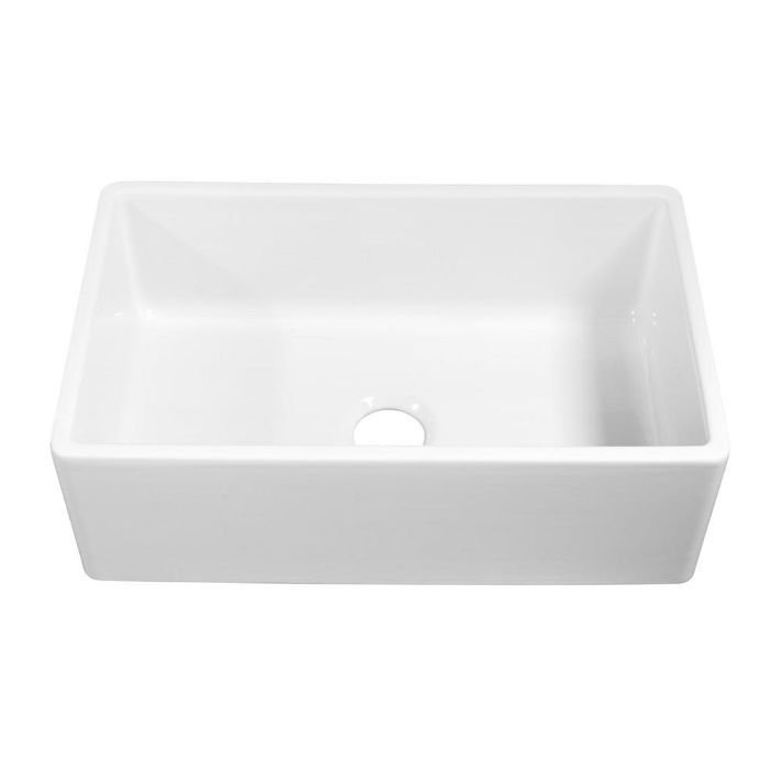 Sinkology Bradstreet II Farmhouse Single Bowl Kitchen Sink—Mistakes to Avoid Making in a Small Kitchen