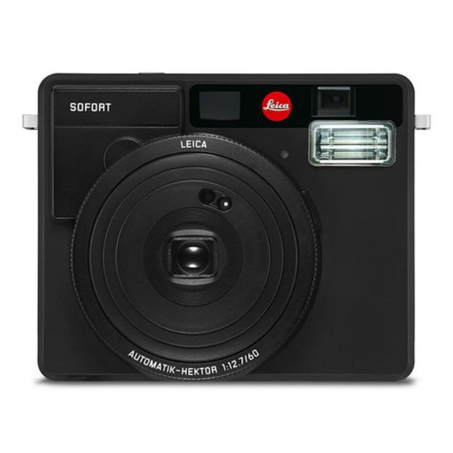 Leica Sofort Camera in Black