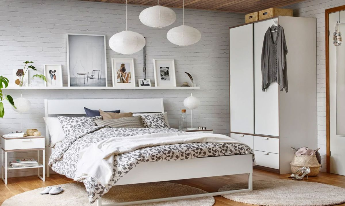 4 IKEA Bedrooms That Look Chic