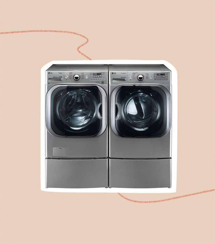 LG Mega Capacity TurboWash Washer and Dryer Pair With Steam Technology (WM8100HVA/DLEX8100V)