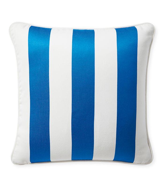 Serena & Lily Sunbrella Island Stripe Outdoor Pillow Cover