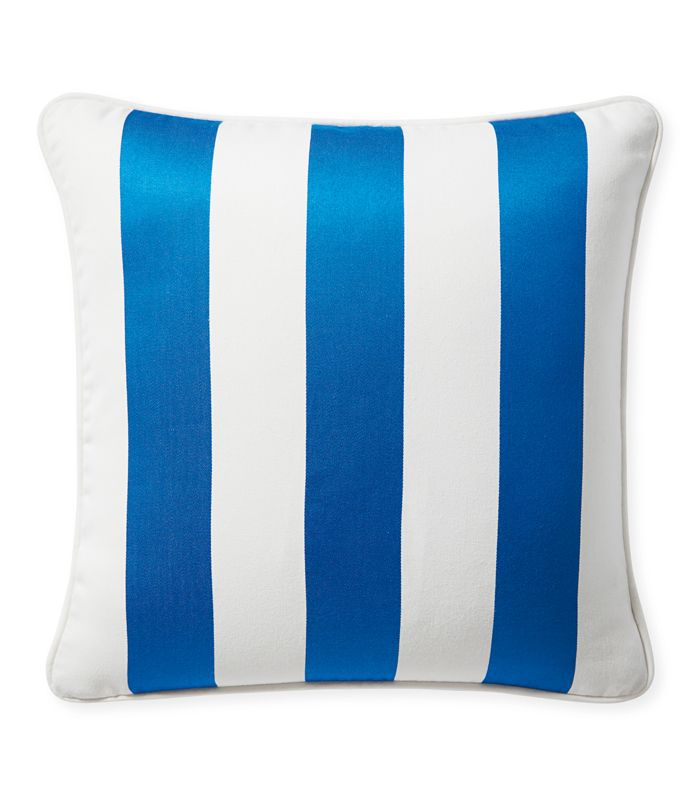 Sunbrella Island Stripe Outdoor Pillow Cover
