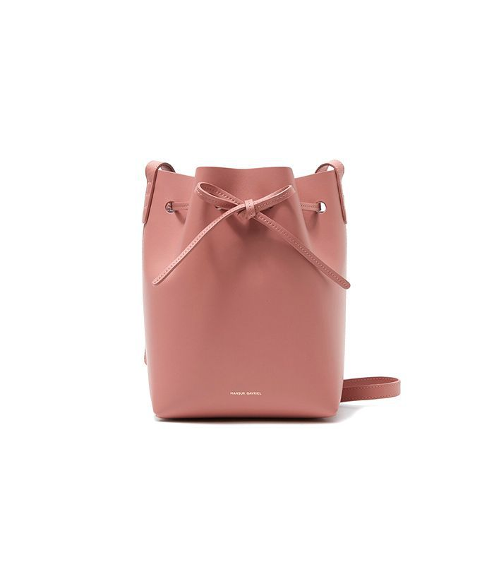 Mini Bucket in Blush