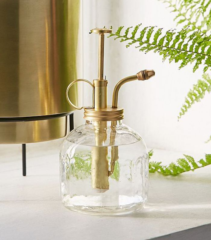 Glass Plant Mister - Gold One Size at Urban Outfitters