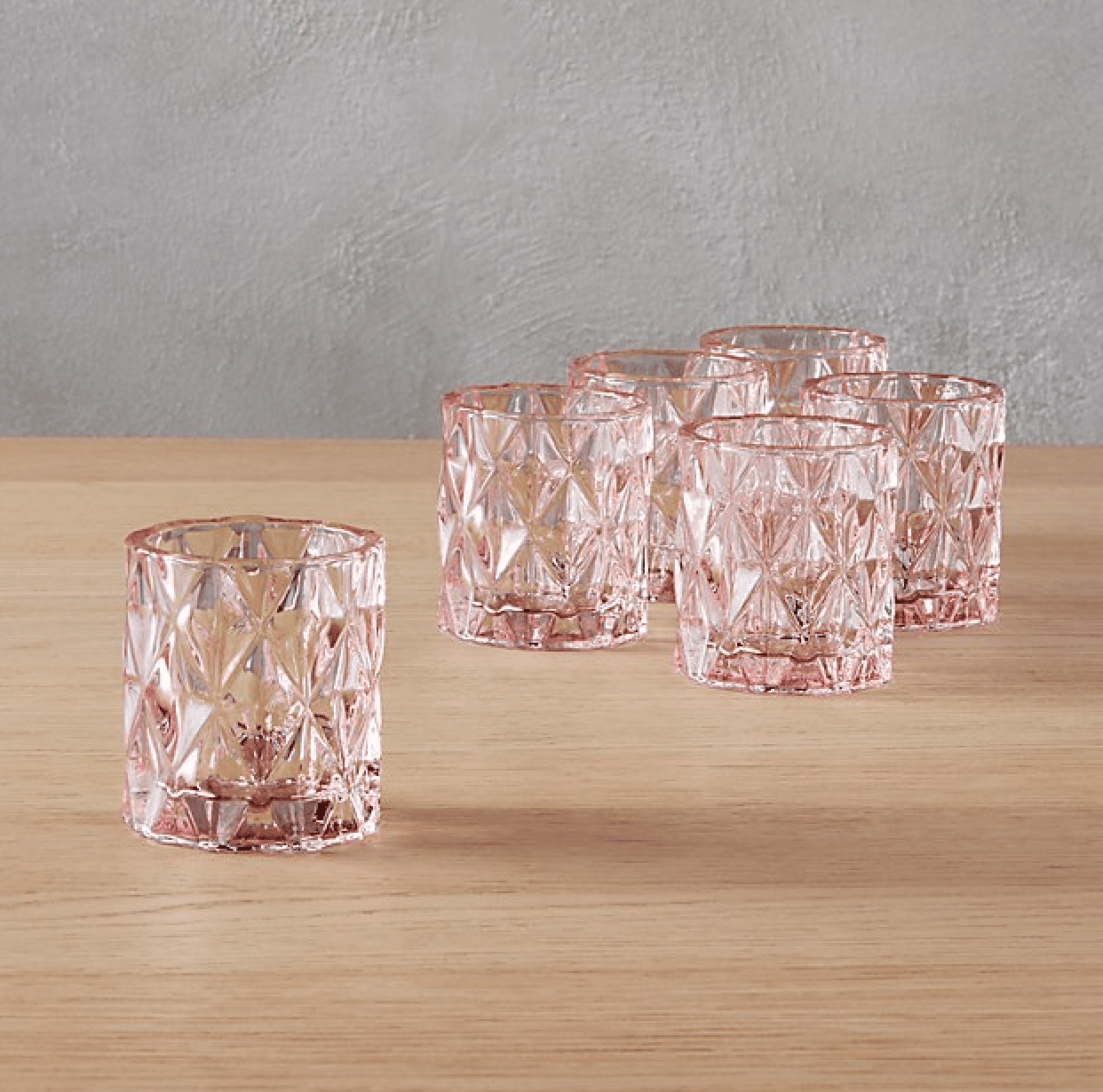 cb2 candle holders tealights