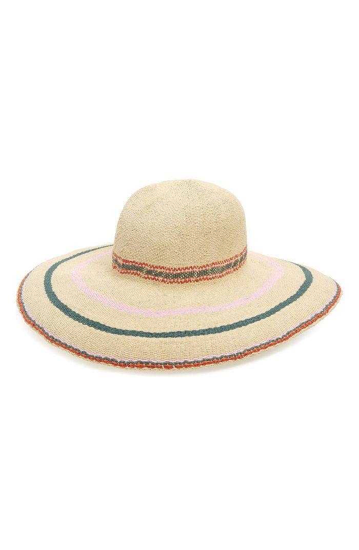 Biltmore Tulum Stripe Straw Hat -