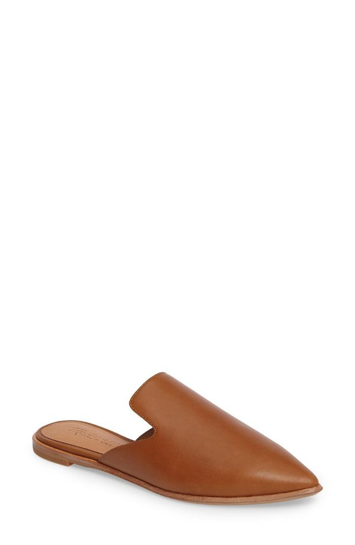 Madewell The Gemma Pointy Toe Mule How Early to Arrive at the Airport