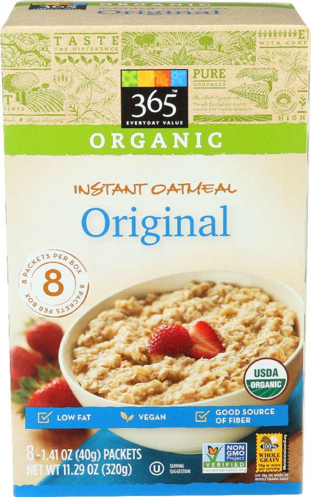 Organic Instant Oatmeal Original
