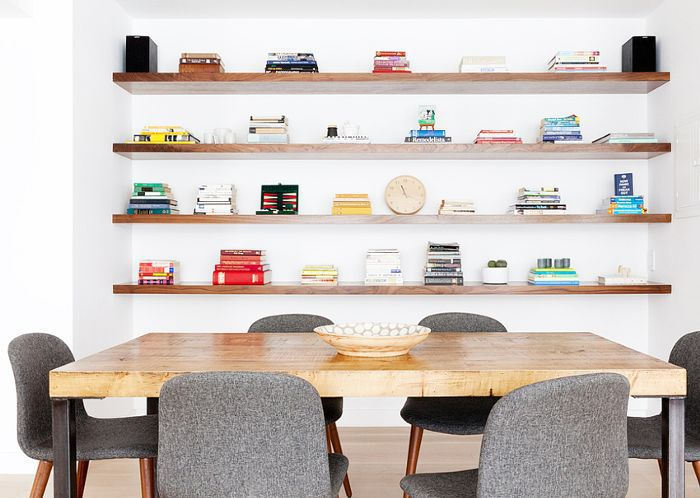 27 Best Floating Shelf Ideas, Wall Shelves Design For Dining Room