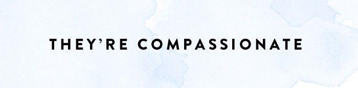 La compasión es un rasgo de mujeres seguras