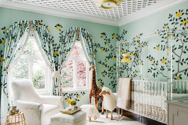 Makeover of the Week - Dina Bandman Amalfi Coast Themed Nursery