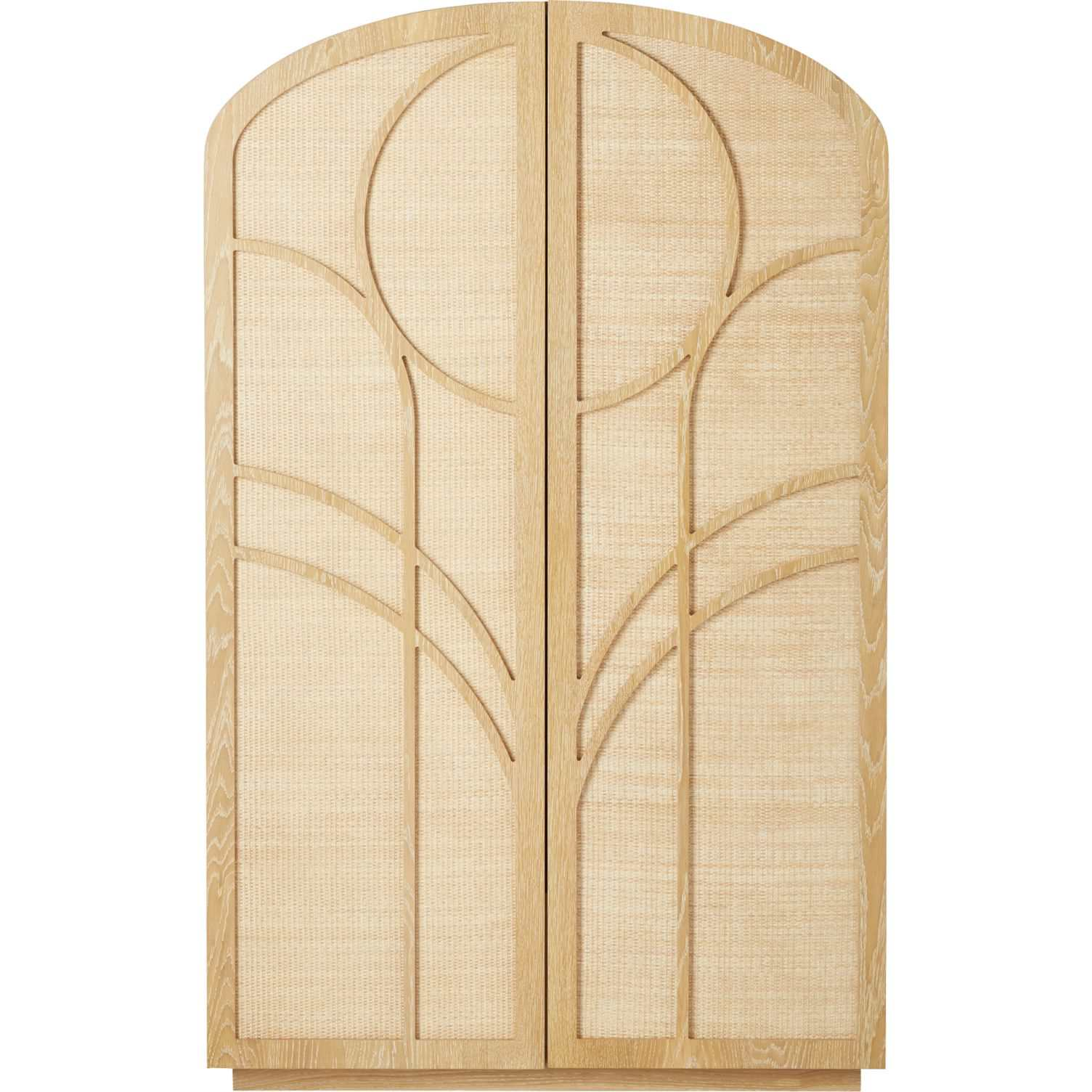 Gracia Cane and Wood Wardrobe