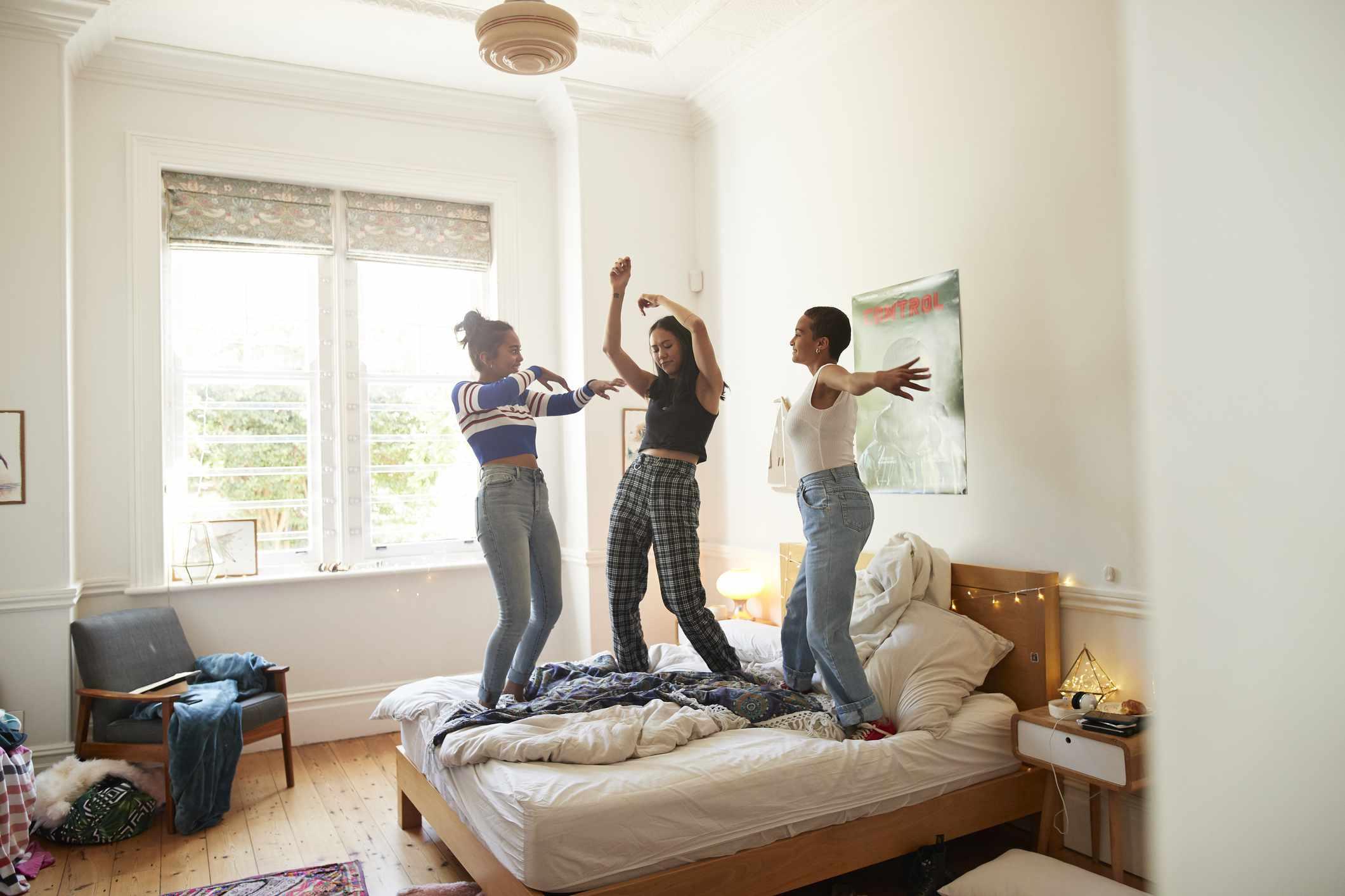dancing at home