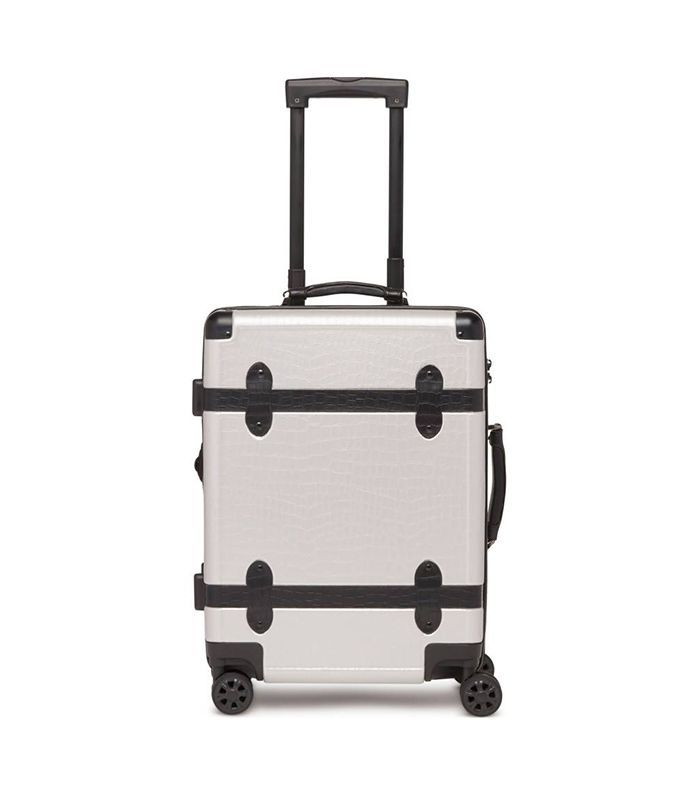 Calpak 2-Piece 30-Inch Trunk & 22-Inch Trunk Rolling Luggage Set - Black