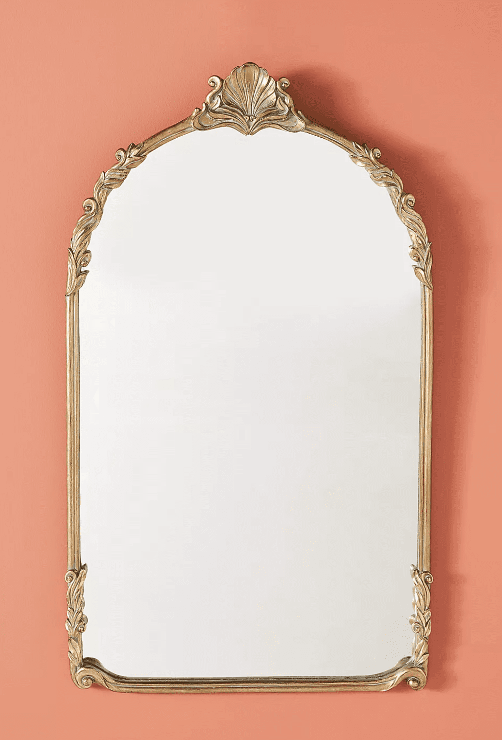 An ornate mirror, currently for sale at Anthropologie