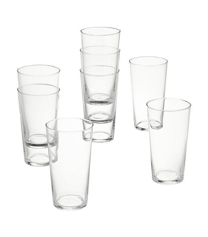 CB2 Set de 8 vasos de jugo Marta