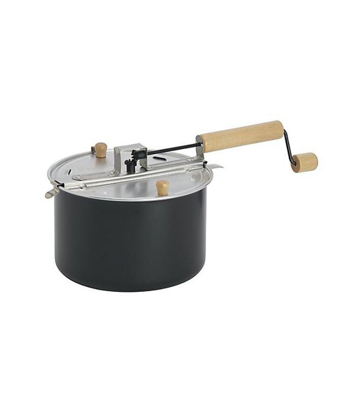 Stovetop Popcorn Popper Black - Crate and Barrel
